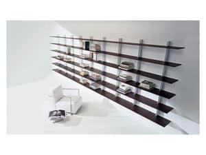 Bild von Plinto B�cherregal A, geeignet f�r wohnzimmer