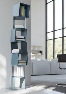 RUBIK comp.02, Moderne Bibliothek für das Haus, der Würfel aus