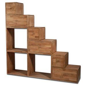 Scala Yen, Platzsparendes Bücherregal als Treppe nutzbar
