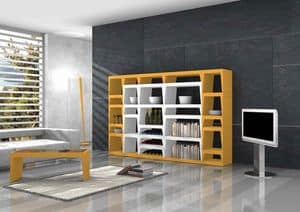 Shoeila, Design-Bibliothek aus lackiertem Laminat