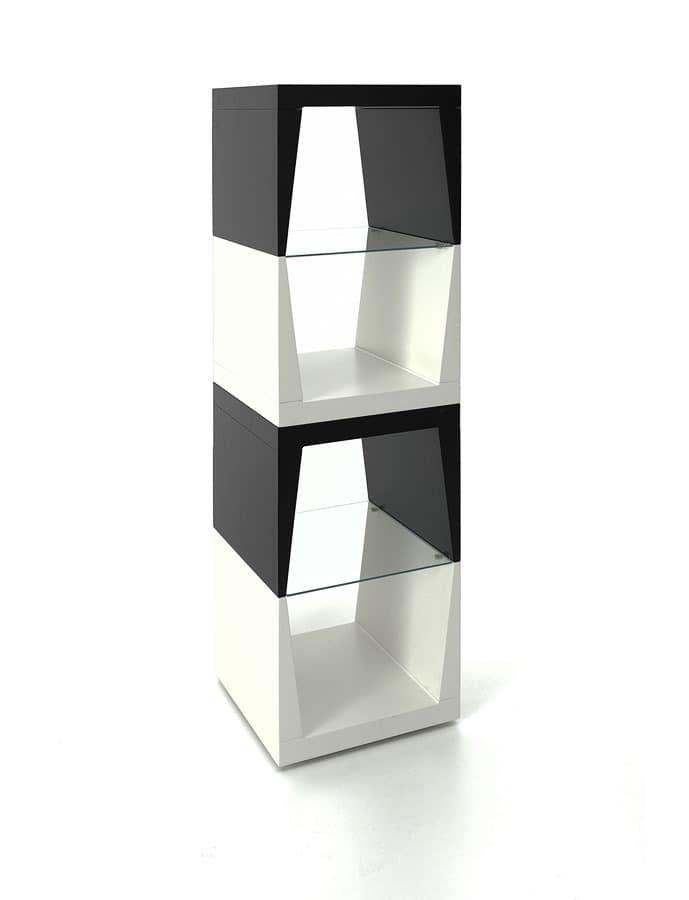 Totem, Spalte f�r Objekte mit Glasb�den