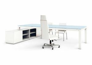 Abaco 200.AB12, Schreibtisch mit Schrank
