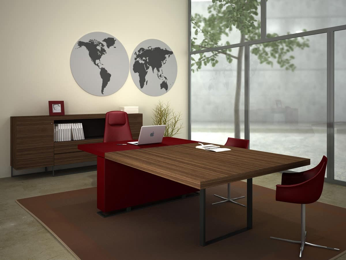 big tisch f r moderne tagungsr ume idfdesign. Black Bedroom Furniture Sets. Home Design Ideas
