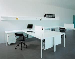 Ernesto Work, Ausgestattet Tisch für Aufgabe und Richtungs Büro