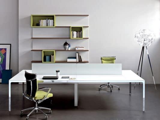 lineartisch more task desk 4. Black Bedroom Furniture Sets. Home Design Ideas