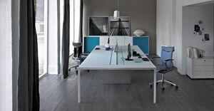 More Aufgabe Schreibtisch 6, Tabelle für die operative Büro, 6 Workstations