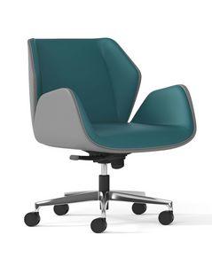 HAIKU, Bürosessel mit niedriger Rückenlehne