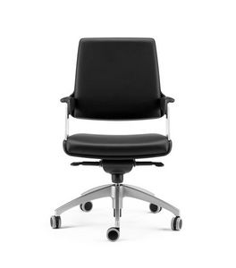 OMNIA, Halbdirektionaler Sessel mit fortgeschrittener Drehpunktschwingung