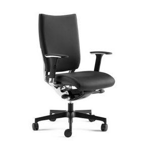SHINE, Halbsessel mit gepolstertem Sitz und Rücken
