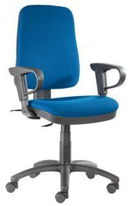 Ariel SY-CPL groß, Büroaufgabestuhl mit hoher Rückenlehne
