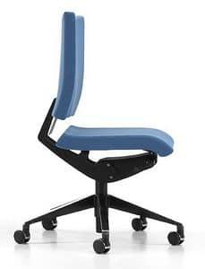 AVIAMID 3400, Bürostuhl mit gepolstertem Sitz und Rücken