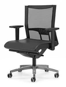 AVIANET 3606, Arbeitsstuhl mit T -förmigen Armlehnen, für das Büro