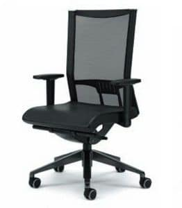 AVIANET 3616, Bürostühle mit Mesh- Rückenlehne und Armauflagen