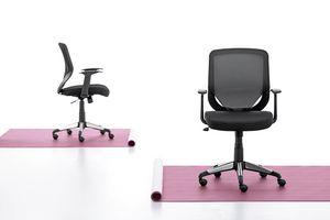 Eliot 01, Operative Stuhl mit Netzrücken, für das Büro