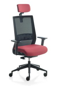 Karma, Bürostuhl, mit Mesh oder gepolsterter Rückenlehne