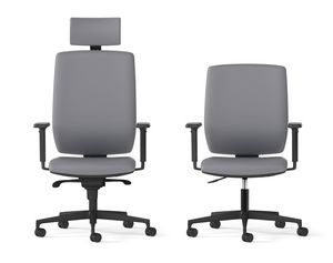 MIRAI, Drehbarer Bürosessel mit hoher Rückenlehne