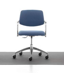 Samba 03, Bürostuhl mit Höhenverstellung für Büro