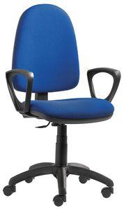 Sofia CPM groß, Bürostuhl mit manueller Rückenlehnenhöhe