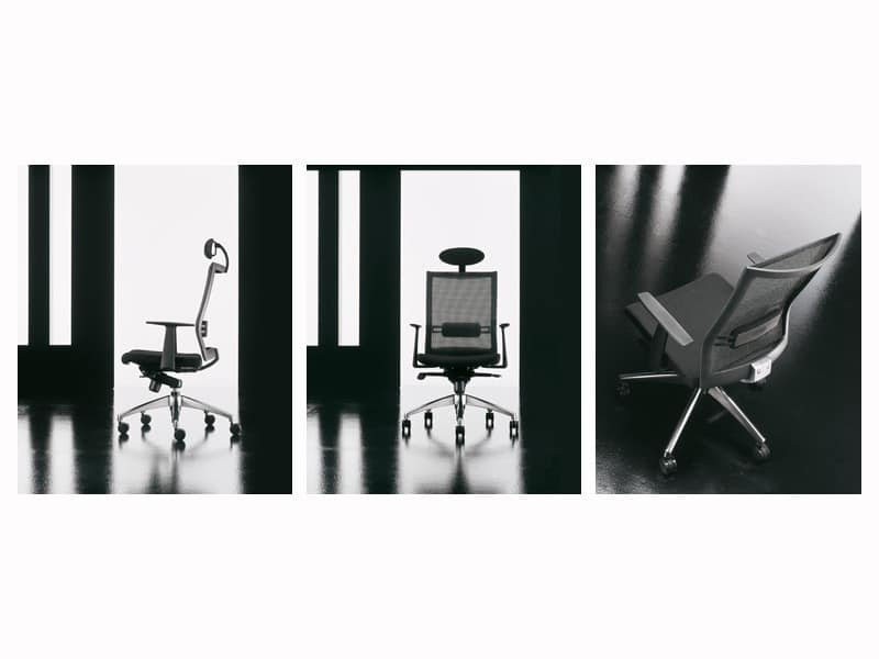 Star, Computer Stuhl, ergonomisch, mit Lendenwirbelstütze