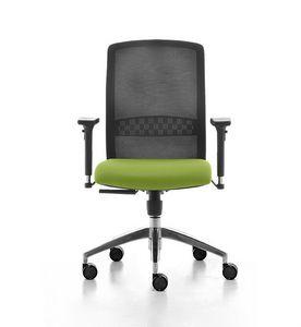 Tekna 01, Büro-Bürostuhl mit Netzrücken