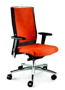 TITANIA 2858, Bürostuhl mit verstellbaren Armlehnen und Drehsockel