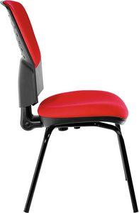 Fantail 4 Beine, Bequemer Stuhl für Bürogäste