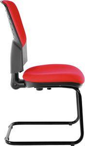 Fantail cantilever, Gepolsterter Bürostuhl für Gäste und Kunden