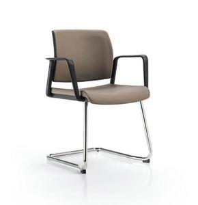 Glamour 2155, Gepolsterter Stuhl für Bürobesucher