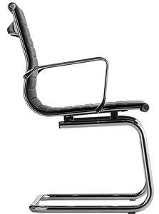 Luxor-T cantilever, Stuhl mit freitragenden Untergründen für Bürokunden