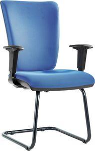 Orion cantilever, Bürostuhl, mit freitragende Unterlage aus Stahl