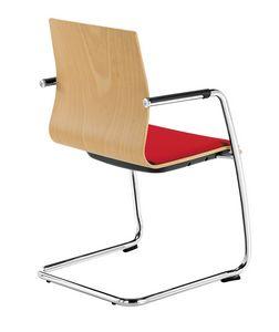 Q2 WIM, Stuhl mit Freischwingergestell für Bürobesucher