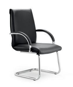 UF 584 / S, Stuhl auf Kufen mit Polsterschale, Polstervarianten