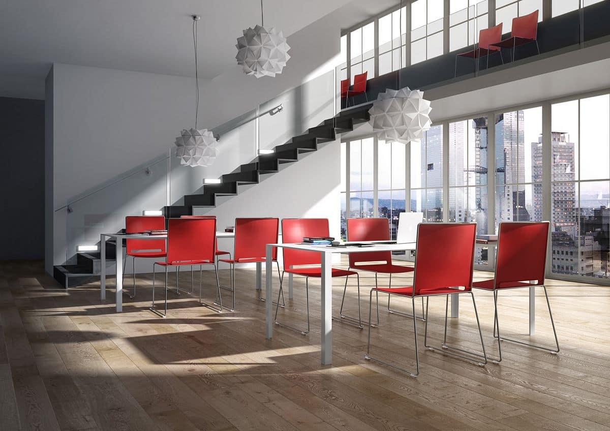iLike, Stapelbarer Stuhl, moderner Stil