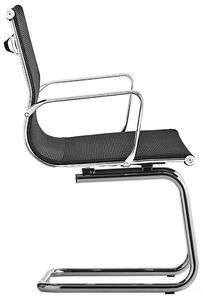 Luxor-R cantilever, Mesh-Sessel für Bürobesucher