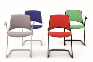 gepolsterter stuhl aus holz feuerhemmende beschichtung idfdesign. Black Bedroom Furniture Sets. Home Design Ideas