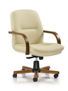 Arcadia 3011, Bürostuhl mit niedrigem Rücken