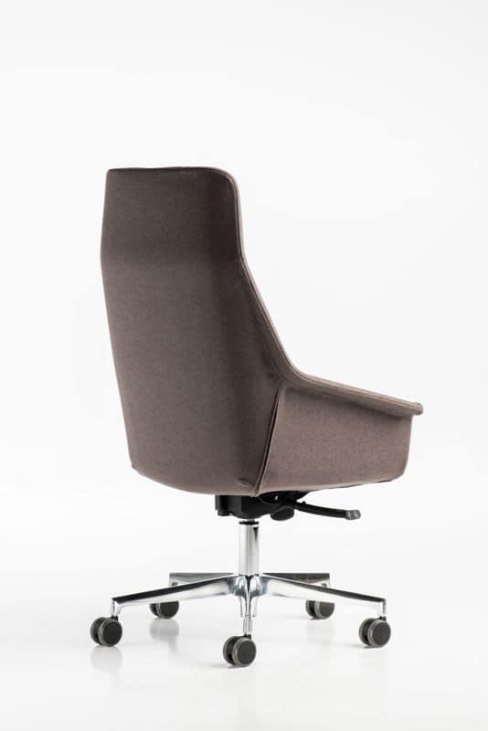 Hohe Dama Gaslift, Moderner Stuhl, Gas-Lift, gepolstert, für das Büro