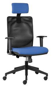 Easy SY mit Kopfstütze, Chefsessel mit Kopfstütze, für Büro