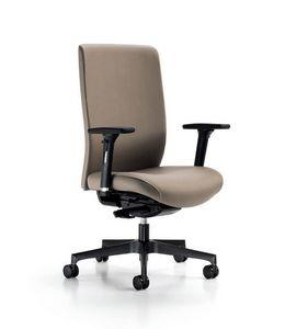 Glamour 2150, Bürostuhl mit ergonomischen Einstellungen