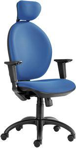 Hera SY-CPL mit Kopfstütze, Gepolsterter Bürostuhl mit verstellbarer Kopfstütze