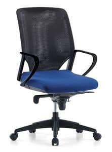 Karina AIR 01, Managerial Bürostuhl, Netzrücken