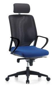 Karina AIR 01 PT, Directional Bürostuhl, selbsttragende Netzrücken