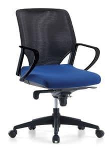 Karina AIR 02, Chefsessel, mit Polyurethan gepolstert, für das Büro