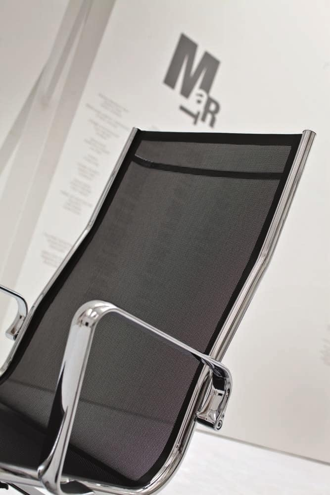 LIGHT 14000, Bürostuhl mit hoch geschwungene Rückenlehne
