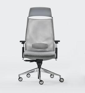 LINK PLUS, Bürostuhl mit innovativer Federung am Sitz