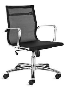 Luxor-R medium, Mesh Bürostuhl, mit niedriger Rückenlehne