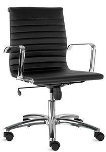Luxor-T medium, Stuhl aus Kunstleder, für Geschäftsführer