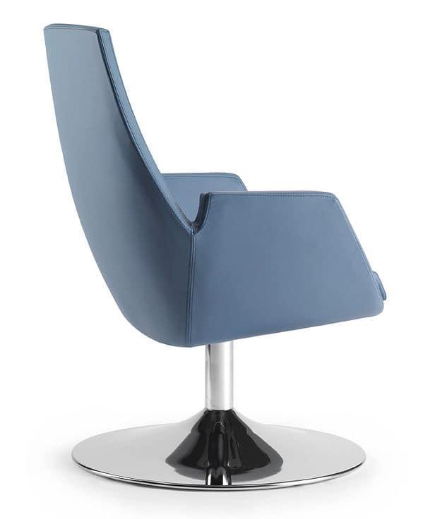 NUBIA 2911, Stuhl mit integrierter Einspritzung Polsterung, für das Büro