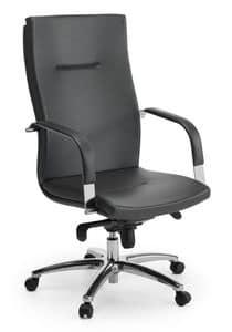 Ottawa 01, Chefsessel mit hoher Rückenlehne für Büro