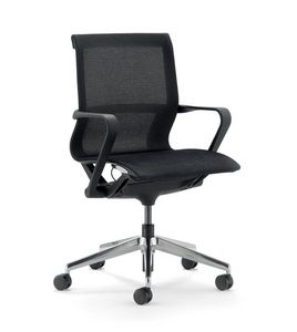 UF 548 / B, Bürostuhl mit niedriger Rückenlehne